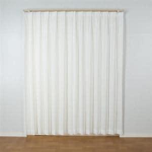 カーテン ミザール ナチュラル 巾100cm×丈103cm 2枚入