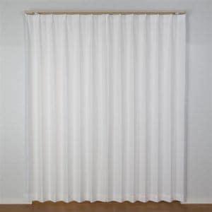 カーテン シックフレッシュ ホワイト 巾100cm×丈198cm 2枚入