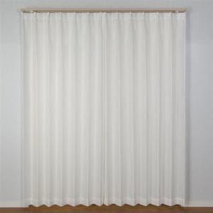 カーテン スピック ホワイト 巾100cm×丈133cm 2枚入