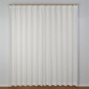カーテン スピック ホワイト 巾100cm×丈176cm 2枚入