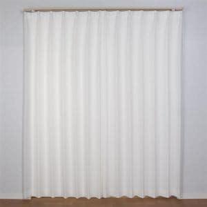 レースカーテン  巾100cm×丈198cm PMキャプチャー ホワイト 2枚入 遮熱・断熱効果あり 外から室内が見えにくい 抗アレルゲン ウォッシャブル