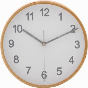 掛け時計・ウォールクロック ホワイト 径22cm