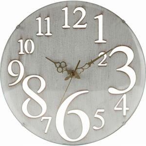 壁掛け時計 レトロ ホワイト 家具 インテリア 雑貨 掛時計