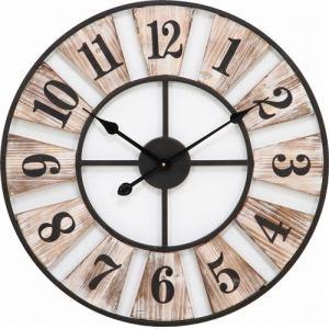 掛時計 ウッドデッキ 径60cm