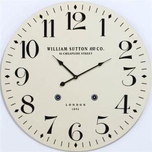 掛時計 LONDON1894 アイボリー 径60cm