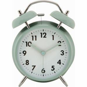 アラームクロック ベル ペールブルー 家具 インテリア 雑貨 置時計