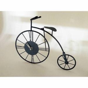 ワイヤー時計 自転車モチーフ ブラック