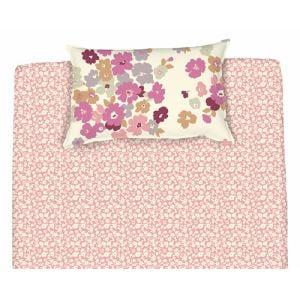 綿枕カバーM シャルロッテ ピンク 43×63cm