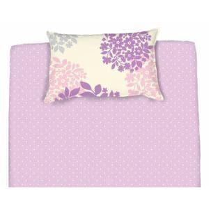 綿枕カバーM グレイシー パープル 43×63cm