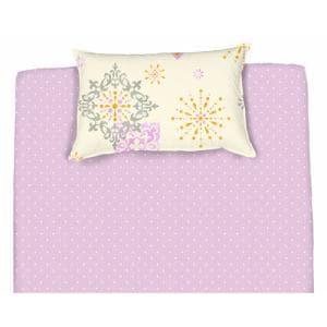 綿枕カバーM ジャンナ パープル 43×63cm