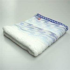 今治タオル 綿100% サーフ ブルー フェイスタオル (1枚)