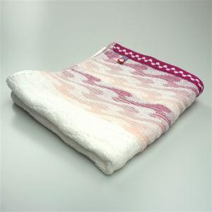 今治タオル 綿100% サーフ ピンク フェイスタオル (1枚)