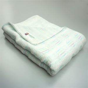 今治タオル 綿100% バスタオル 無撚糸パレット ブルー(1枚)