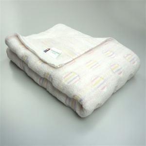 今治タオル 綿100% バスタオル 無撚糸パレット ピンク (1枚)