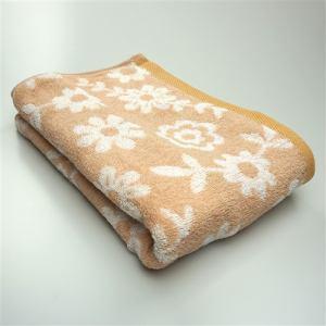 タオル 甘撚りボタニカルガーデン ベージュ バスタオル ふんわり柔らか(1枚)