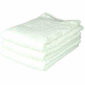 タオル ベトナムしっかりカラー ホワイト 大判バスタオル 吸水性 耐久性に優れ(1枚)