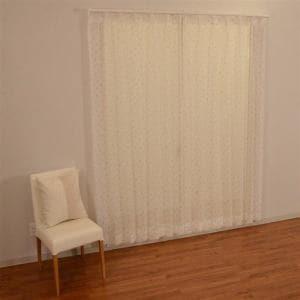 カーテン ボイル ベル ローズ 巾100cm×丈176cm 2枚入