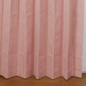 ドレープ遮光・遮熱・防音カーテン エフェクト ローズ 巾100cm×丈200cm 2枚入