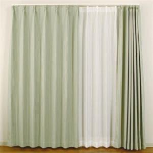 カーテン ココモ グリーン 巾150cm×丈178cm 1枚入
