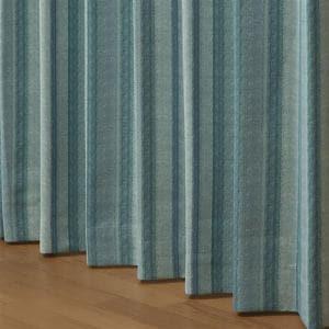 遮光カーテン 巾100cm×丈200cm タロス グリーン 2枚入 ウォッシャブル