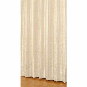 カーテン 幅150cm×丈230cm エレンシア イエロー 2枚で1間半用 (1枚入り)遮光性(遮光裏地付)形状記憶加工 ウォッシャブル 保温性