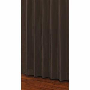 ユニベール 既製カーテン セレスト ブラウン 1間用両開き