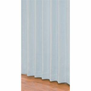 ユニベール 既製カーテン ニコラ ブルー 1間用両開き