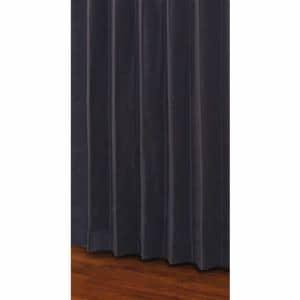 ユニベール 既製カーテン セレスト ネイビー 1間用両開き