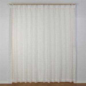 カーテン テッドレース グレー 巾100cm×丈176cm 2枚入