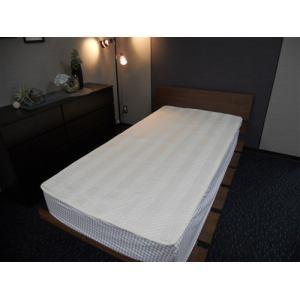 [幅140×奥行200cm] 大宗  ベッドパット DSPB-903D ダブル アイボリ-