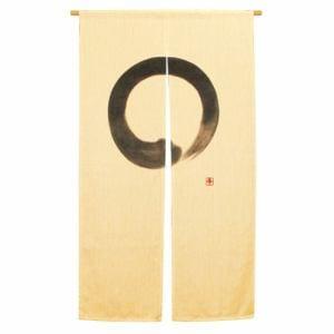 のれん エンソウ アイボリー 巾85cm×丈150cm