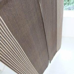 のれん 楽 ブラウン 巾85cm×丈170cm