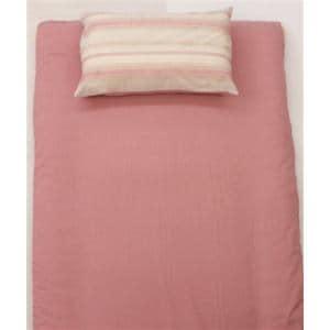 大宗  T/Cプリント枕カバー DSS1563M 43×63cm ストライプ ピンク