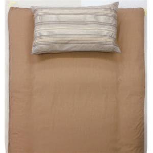 大宗  T/Cプリント枕カバー DSS1563M 43×63cm ストライプ ベージュ