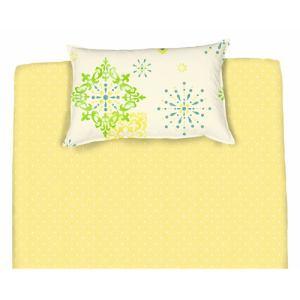 綿枕カバーM ジャンナ グリーン 43×63cm