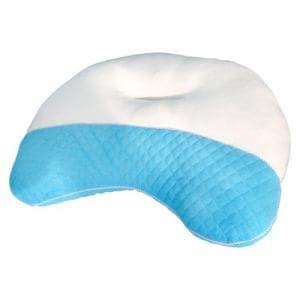 首にやさしさまくら ブルー 40×58cm 家具 インテリア 雑貨 枕