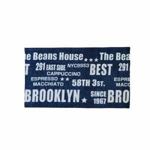[45×75cm] 玄関マット ベストマット ブルー