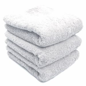 タオル 綿100% スーピマカラー オフホワイト フェイスタオル 耐久性に優れ (1枚)