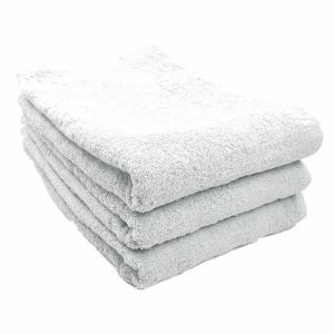 タオル 綿100% スーピマカラー オフホワイト 大判バスタオル 耐久性に優れ(1枚)