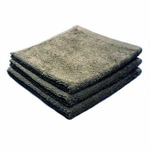 タオル 綿100% スーピマカラー チャコールグレー ハンドタオル 耐久性に優れ (1枚)