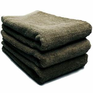 タオル 綿100% スーピマカラー チャコールグレー ミニバスタオル 幅50×長さ100cm 耐久性に優れ(1枚)