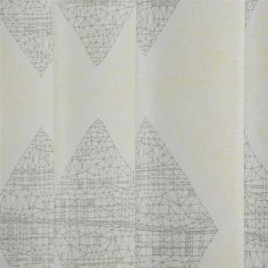 カーテン ラインワーク ホワイト 巾100cm×丈135cm 2枚入
