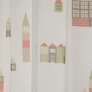 カーテン ボイル ツミキノオシロ ミックス 巾100cm×丈176cm 2枚入