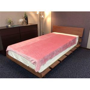 大宗  ソフトタッチらか毛布 エルモ 140×190cm ピンク