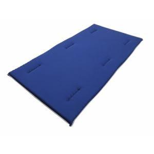 大宗 京都西川 健康敷布団 体を支える敷布団 ハード  100×200×6cm ネイビー