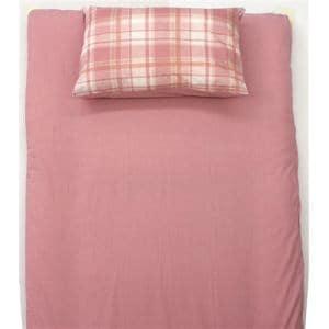TCすっぽりシーツ シャンブレー ピンク セミダブル