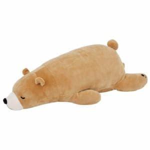 ぬいぐるみ クッション 抱きまくら Mクッキー  巾53cm×奥行23cm×高さ14cm 動物 クマ