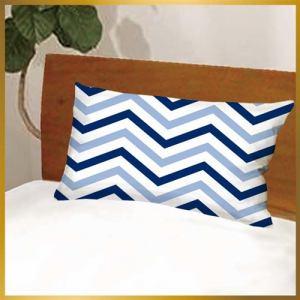 枕カバー ヘリンボン600-43 ブルー 43cmx63cm用