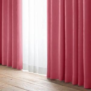 ドレープカーテン YDDレユール ローズ 巾100cm×丈178cm 2枚入