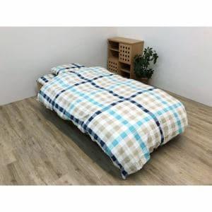 イケヒコ・コーポレーション 寝具3点カバー アクシィー  シングル ベージュ